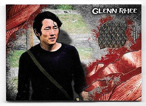 Superstar Movie Costume (2016 Walking Dead Survival Box Steven Yeun as Glenn Rhee Costume Relic Card)