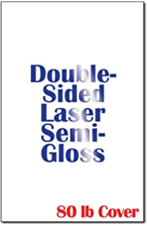 amazon com 38lb double sided laser semi gloss 11 x 17 large tri