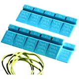 10° to 20° Angle Guides Set for Sharpening Knife on Stone - Blue AngleGuide