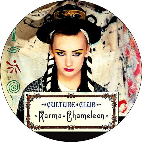 The Culture Club - Karma Chameleon Single Cover - 1.25