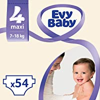 Evy Baby Bebek Bezi, Maxi 4 Beden, 54 Adet