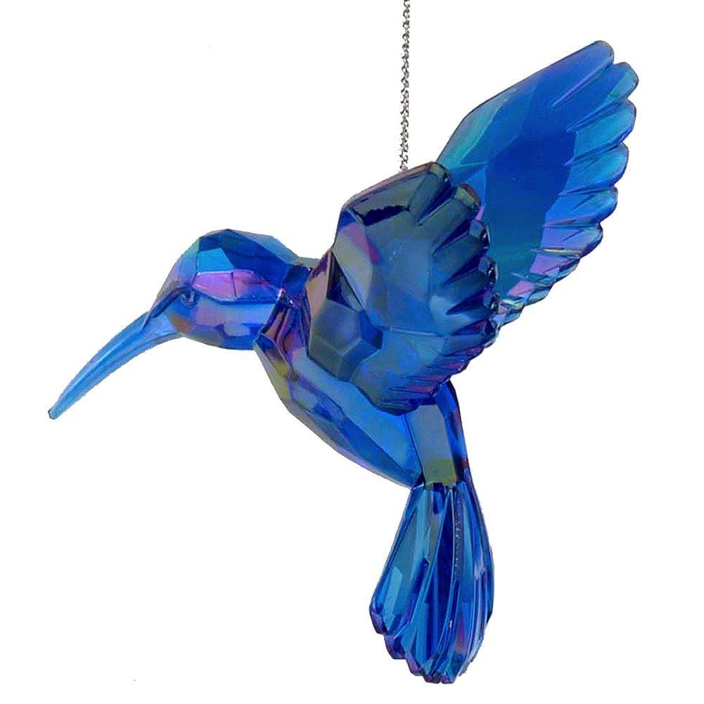 Acrylic Hummingbird Ornament Blue T1509-A Kurt Adler