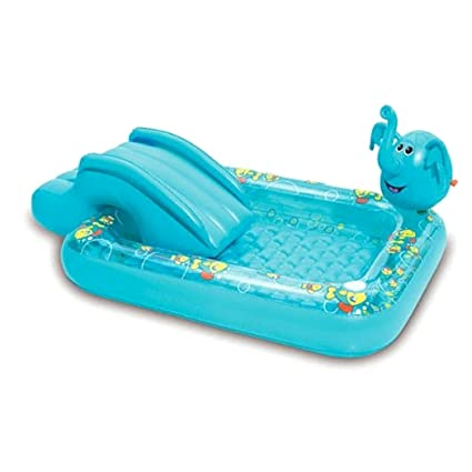 Kids Inflatable Pool This Small Portable Kiddie Blow Up Above Ground Swimming Is Great For