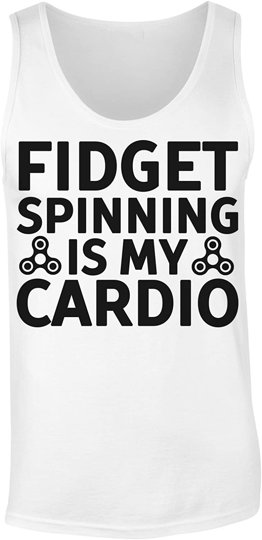 Fidget Spinning Is My Cardio Camiseta sin Mangas para Mujer XX ...
