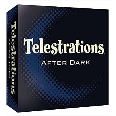 Telestrations After Dark Adult Party Game | Adult Board Game | An Adult Twist on The #1 Party Game Telestrations | The Telephone Game Sketched Out | Ages 17+: Toys & Games