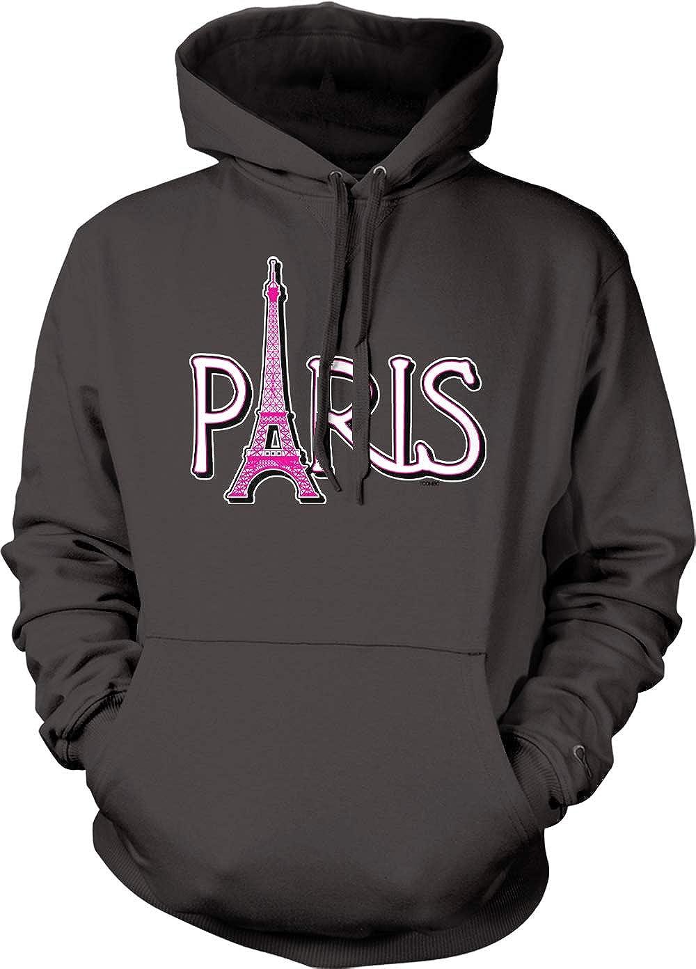 France Tourist Unisex Hoodie Sweatshirt Paris Eiffel Tower