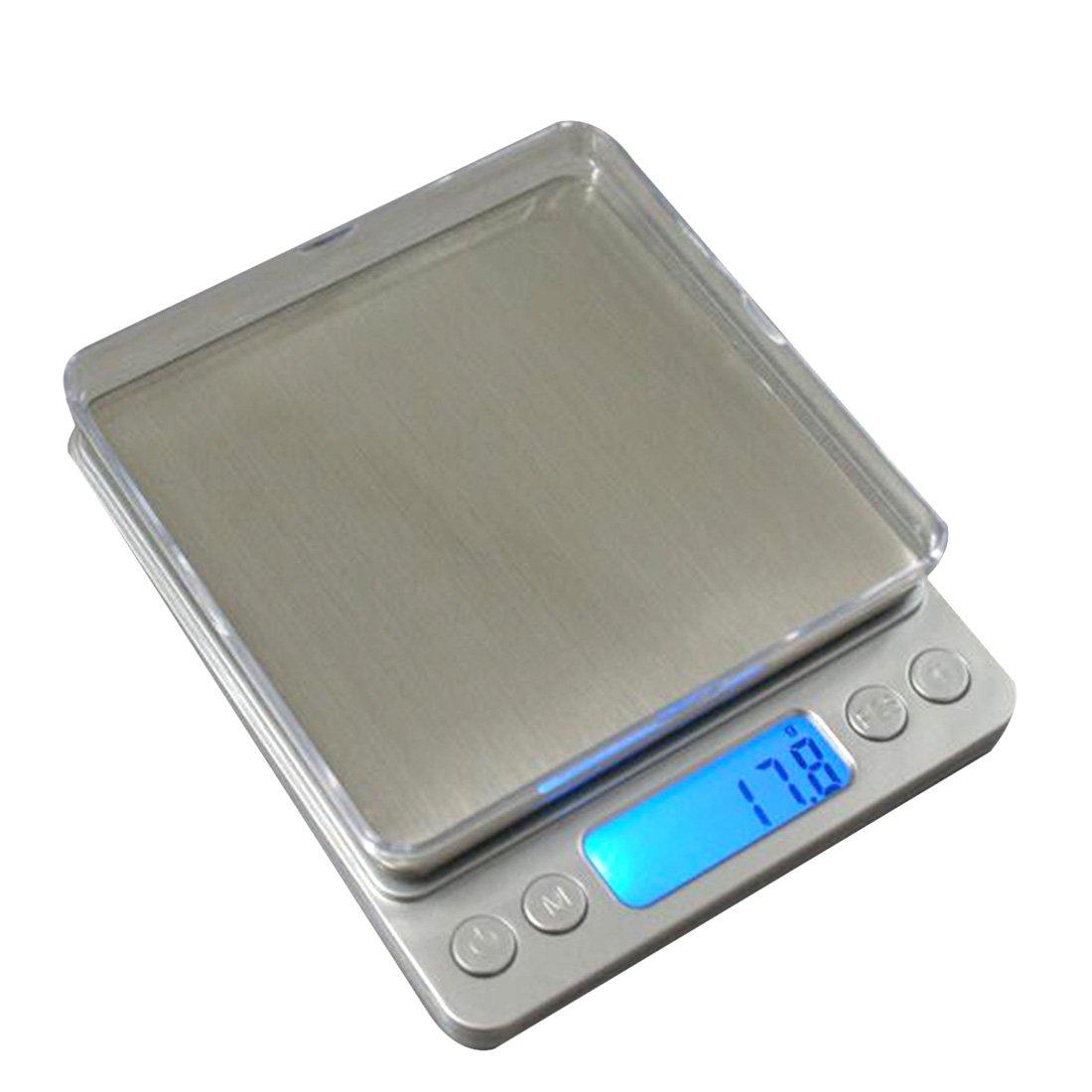 Haushalt Kü chenwaagen LCD Display Skala Digital elektronische Kü che Nahrungsmitteldiä t Tasche 1000g / 0.1g Waage rongwen LEPTS3025