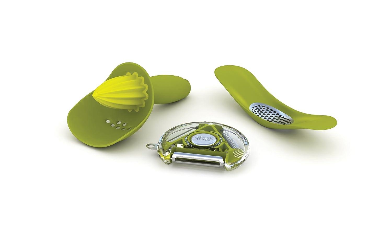 amazoncom joseph joseph gadgets gift set green kitchen tool sets coasters - Kitchen Gadget Gift Ideas