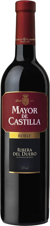 Mayor de Castilla Roble Vino Tinto DO Ribera Del Duero, 750ml
