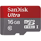 Sandisk Ultra microSDHC UHS-I 16GB Class 10 Memory Card with Adapter With Speed Up To 48MB/s