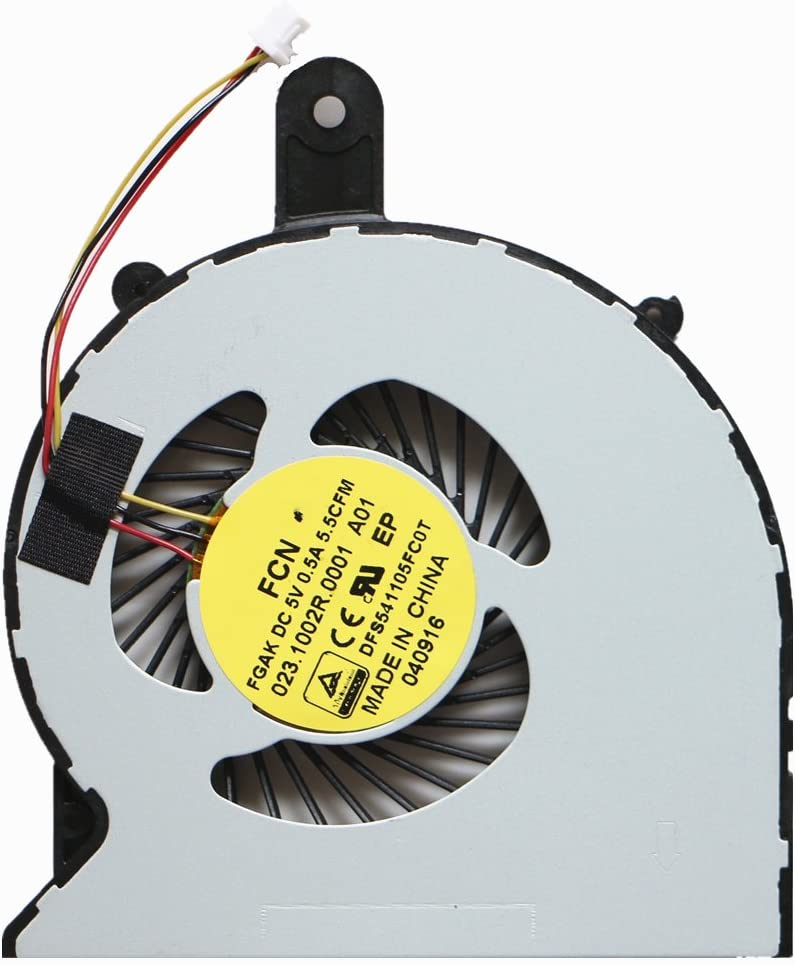 Laptop Replacement Cooler Fan for Dell Inspiron 14-3458 14-3459 15-3558 15-3568 CPU Cooling Fan FCN FGAK 023.1002R.0001