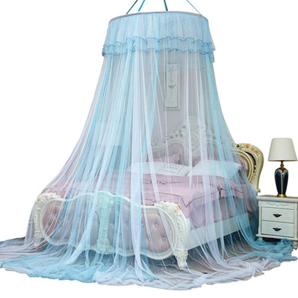 Mosquito Net Dust top Zipper Drop Children 1.5/1.8m Bed 2 m Household encryption Thickening Princess Wind (Color : B, Size : 1.5m Bed)