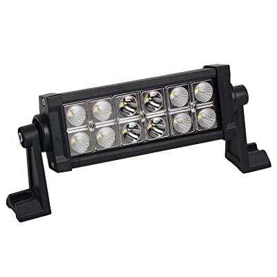 Promotion LED Light Bar 7 Inch 36w LED Work Light Spot Flood Combo Led Driving Lights Boat Lighting Fog Lights Jeep Offroad,Suv 4wd Truck Heavy Duty Vehicle Atv Lights 2 Years Warranty: Automotive [5Bkhe0411218]