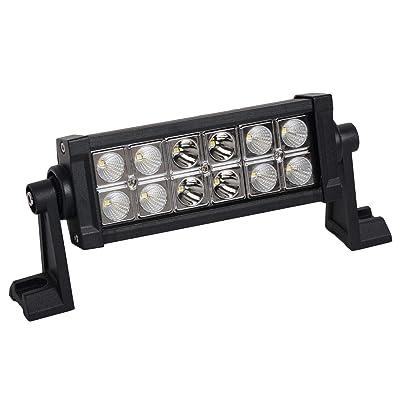 Promotion LED Light Bar 7 Inch 36w LED Work Light Spot Flood Combo Led Driving Lights Boat Lighting Fog Lights Jeep Offroad,Suv 4wd Truck Heavy Duty Vehicle Atv Lights 2 Years Warranty: Automotive [5Bkhe0106409]
