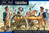 Black Powder Revolutionary War Field Artillery 1:56 Military Wargaming Plastic Model Kit