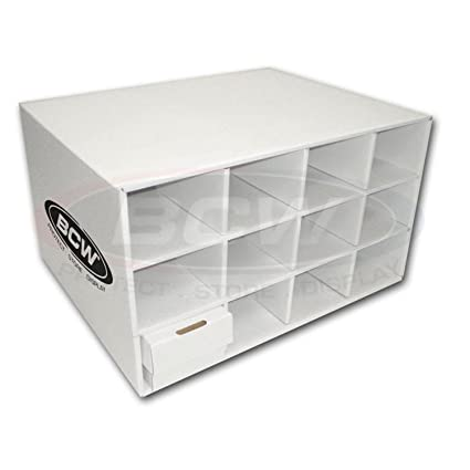 1600 CT BCW Corrugated Cardboard Storage Shoe Box Verzamelkaarten: sport Verzamelingen