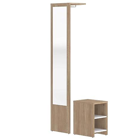 Movian Deva - Mueble para el recibidor, 40 x 33 x 188 cm ...