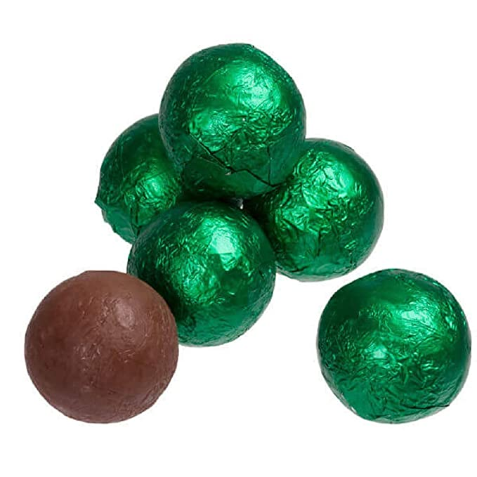 24PC Single Color Pack CHOCOLATE Felt Balls