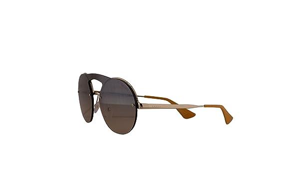 35b55912b Prada PR65TS Sunglasses Pale Gold w/Brown Gradient 36mm Lens ZVN4P0 SPR65T PR  65TS SPR 65T: Amazon.co.uk: Clothing