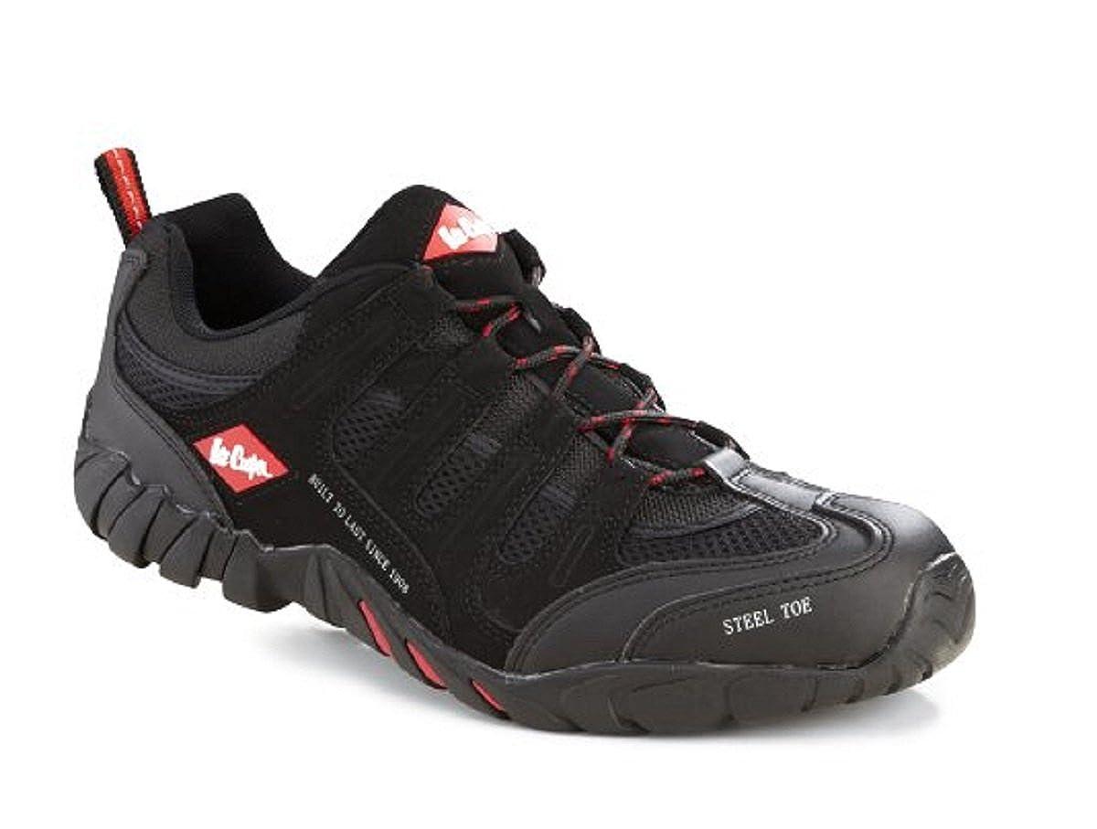 Lee Cooper Lc008, Chaussures de sécurité pour homme Noir noir
