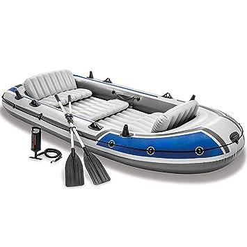 DMBHW Bote Salvavidas Barca Hinchable 5 Personas Rafting al Aire ...