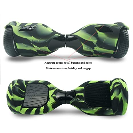 360° Hoverboard Protectora Cubierta Carcasa Funda de Silicona para 6.5