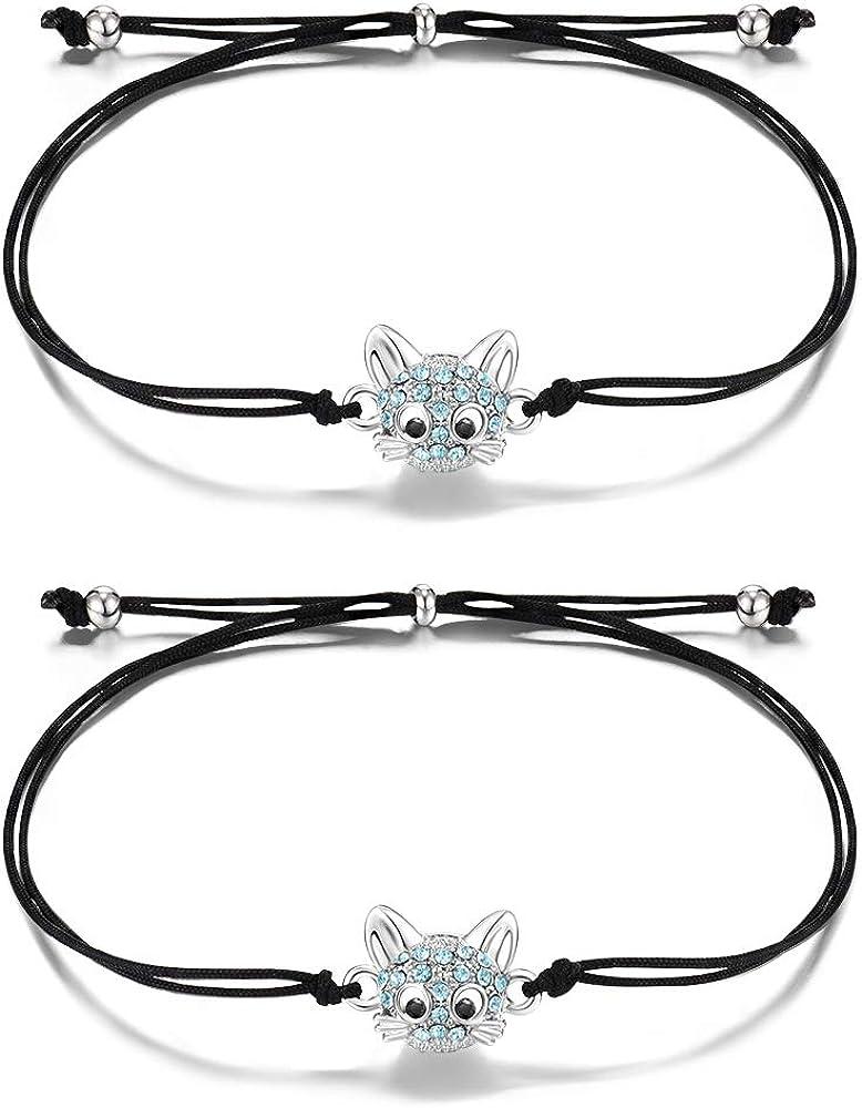 Handmade Friendship Bracelet November Birthday Gift for Her Sterling Silver Gift