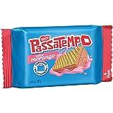 Biscoito Mini Wafer, Morango, Passatempo, 20g