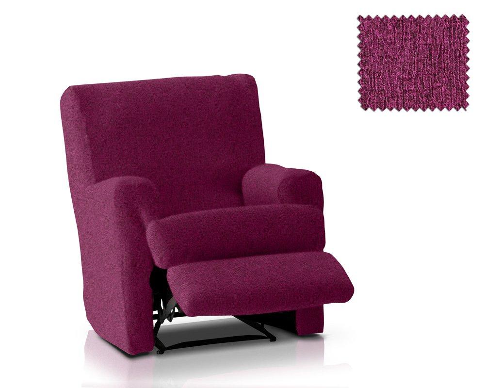 JM Extra Bi Elastic recliner armchair cover Eneasis 1 seater size (Standard), Colour 00 JM Textil