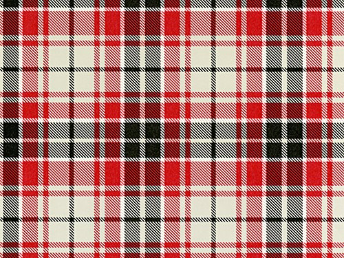 Pack of 1, Gray/Red/Blk Club Plaid 30'' x 833' Full Ream Roll Gift Wrap for Holiday, Party, Kids' Birthday, Wedding & Special Occasion Packaging by Generic