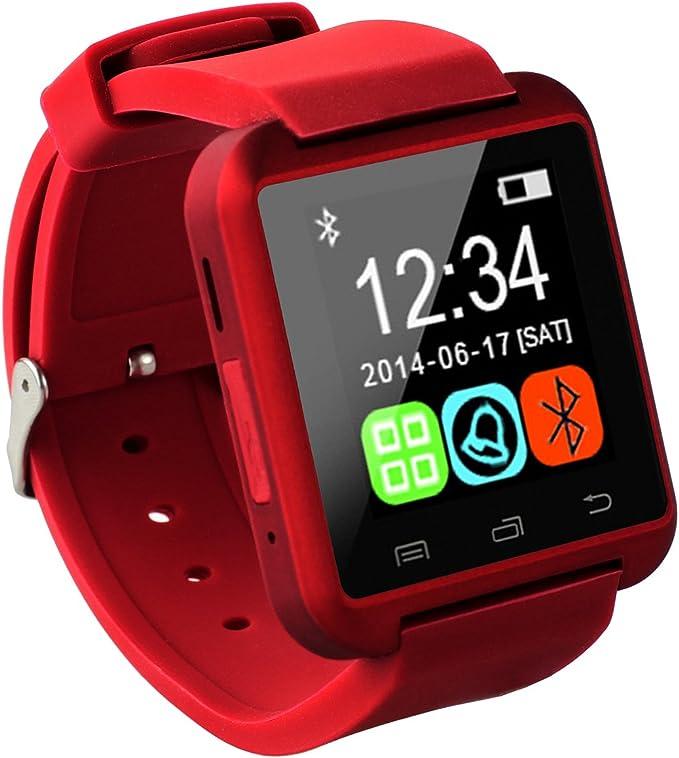 Tera - Smartwatch U8 Pulsera con Pantalla Táctil Selfie Anti ...