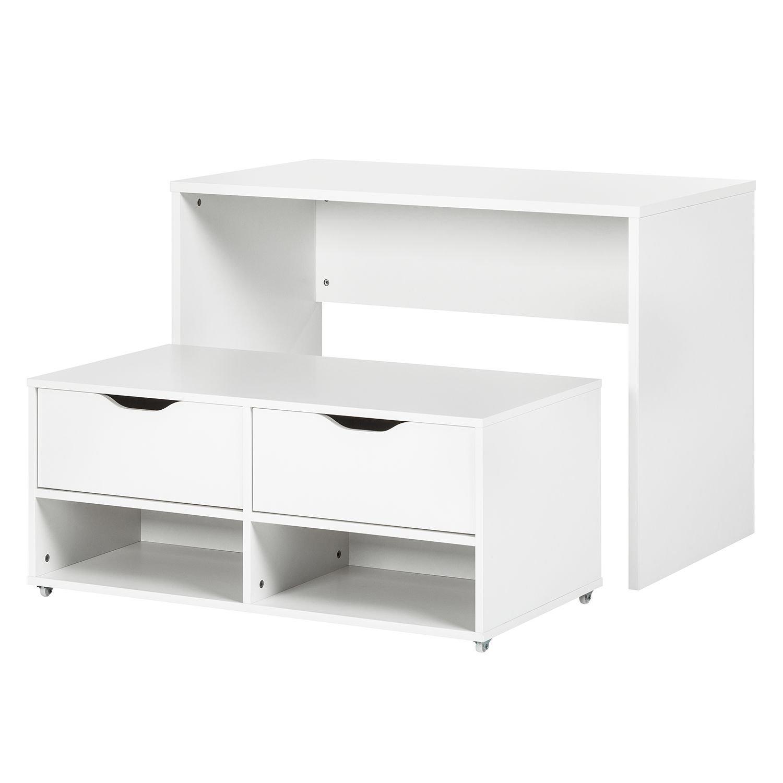 Platzwunder Schreibtisch Esstisch Kommode Tisch Set Bank Sitzbank ...