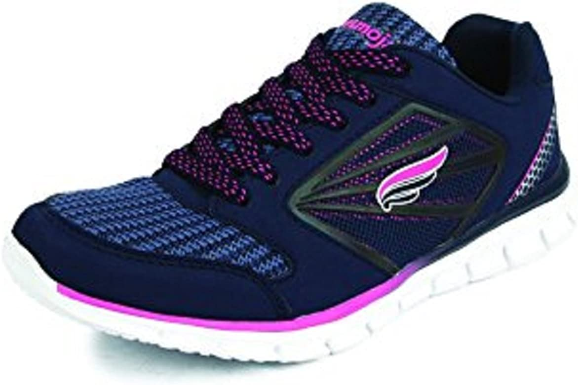 Mmojah Women Energy-31 Navy Blue/Pink Running Sports Shoes-7: Amazon.es: Zapatos y complementos