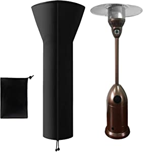 """Evoio Patio Heater Covers Waterproof with Zipper, Outdoor Stand up Round Heater Covers 89'' H x 34"""" D x 20"""" B"""