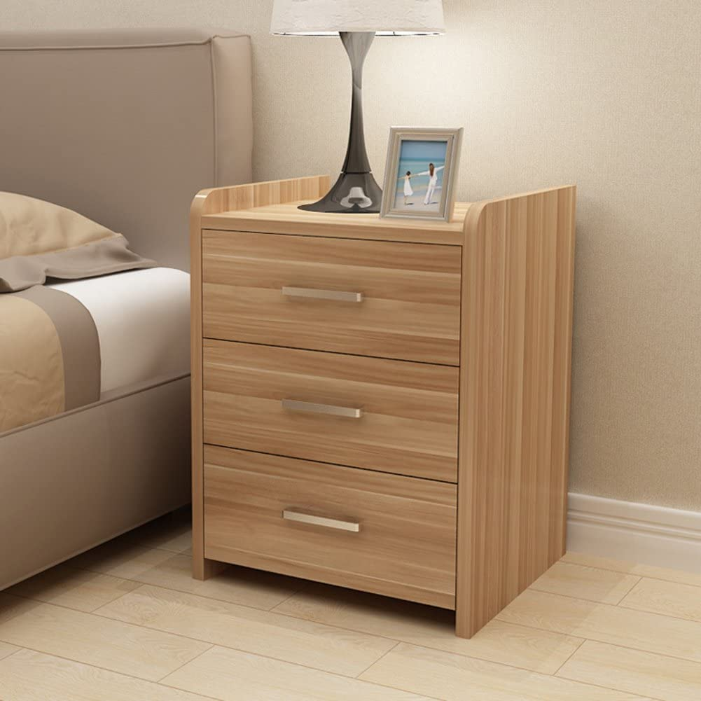 Wooden Mini Bedside Table Bedroom Simple Ultra-Narrow Locker Sofa