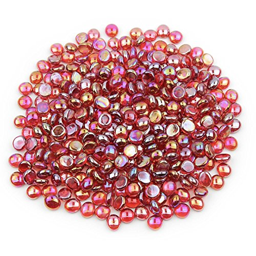 (Gemnique Mini Glass Gems - Red Luster (48 oz.))