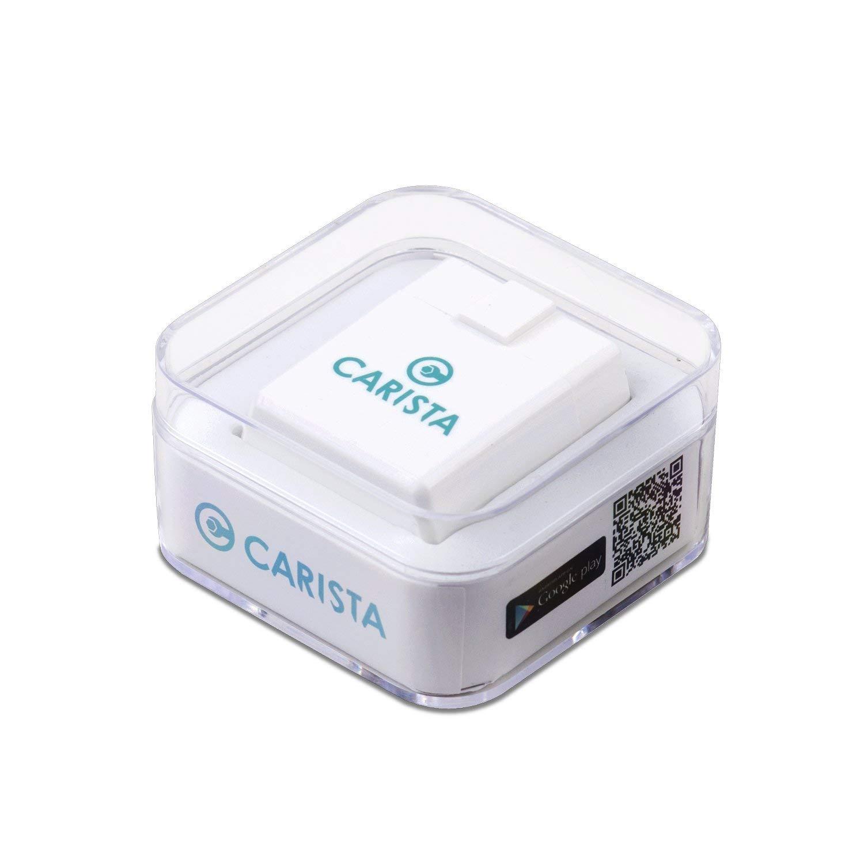 Carista OBD2 Adaptador Bluetooth y App: Diagnostico, Personalización y Herramientas de Servicio con la última tecnología
