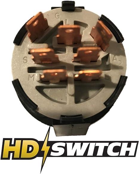 Amazon.com: HD interruptor encendido john deere Interruptor ...
