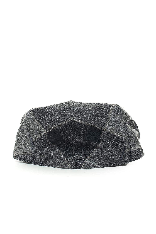 Barbour - Bk11 flat cap black grey tart BAACC1113: Amazon.es: Ropa ...