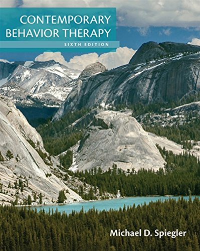 Contemporary Behavior Therapy