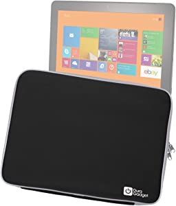 DURAGADGET Lightweight Hardwearing Black Tablet Case - Suitable for Dell Venue 11 Pro