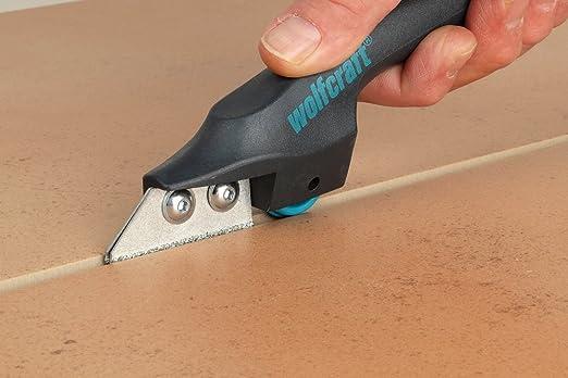 Wolfcraft 5570000 1 Grattoir A Joints Ct A Roulement Noir Amazon Fr Bricolage