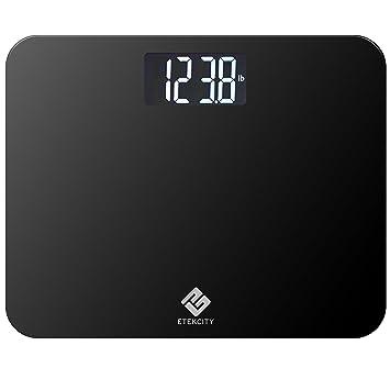 Amazoncom Etekcity Digital Body Weight Bathroom Scale With Large - Large display digital bathroom scales