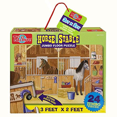 T.S. Shure Horse Stable Jumbo Floor Puzzle