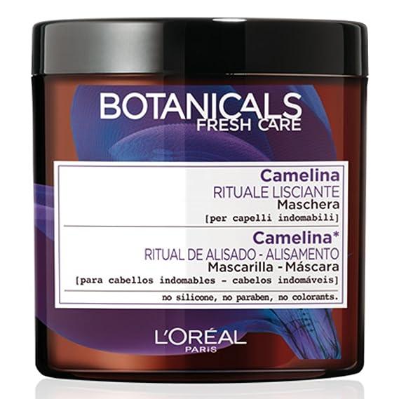 L'Oreal Paris Botanicals Mascarilla Botanicals Ritual de Alisado para Cabellos Indomables - 200 ml
