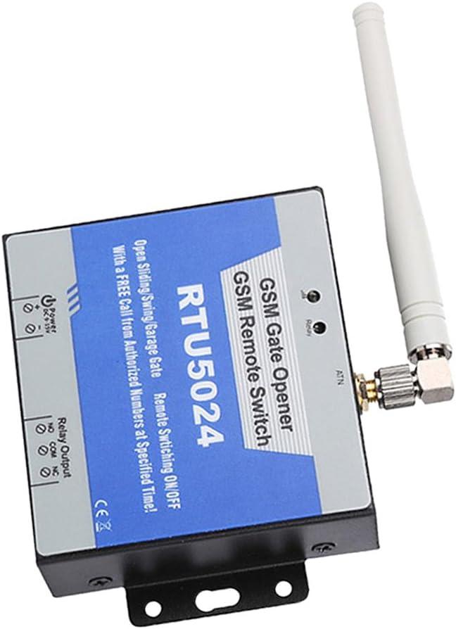 MagiDeal Gsm Puerta Abridor Interruptor Relé Controlador Acceso Remoto Deslizante Abridor Compuerta