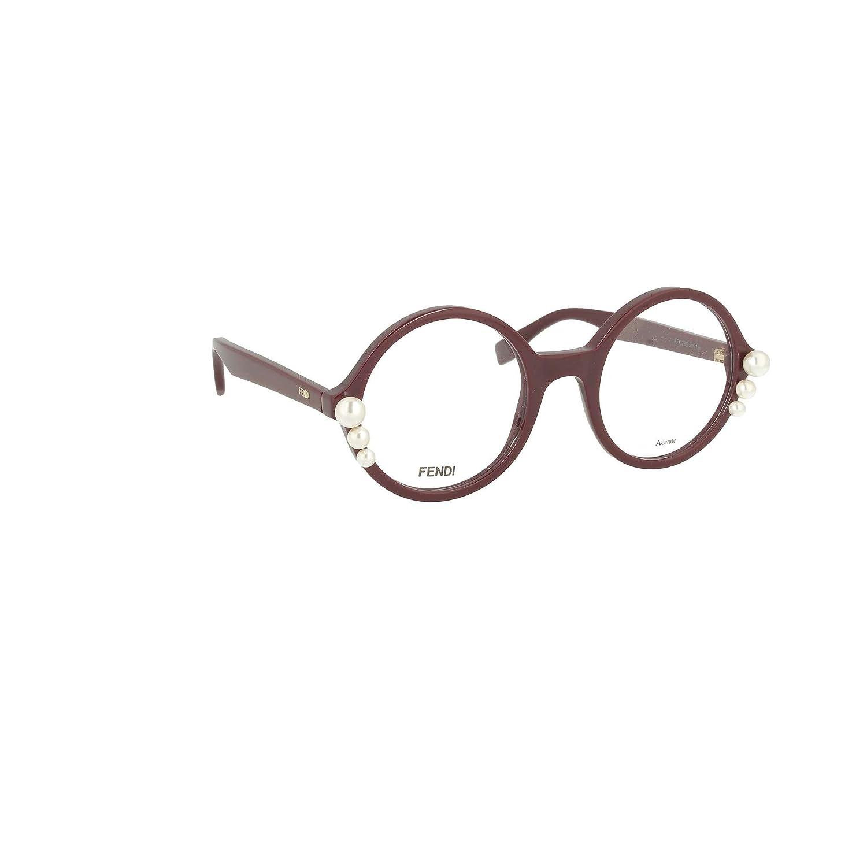 Brillen Fendi RIBBONS AND PEARLS FF 0298 VIOLET Damenbrillen: Amazon ...