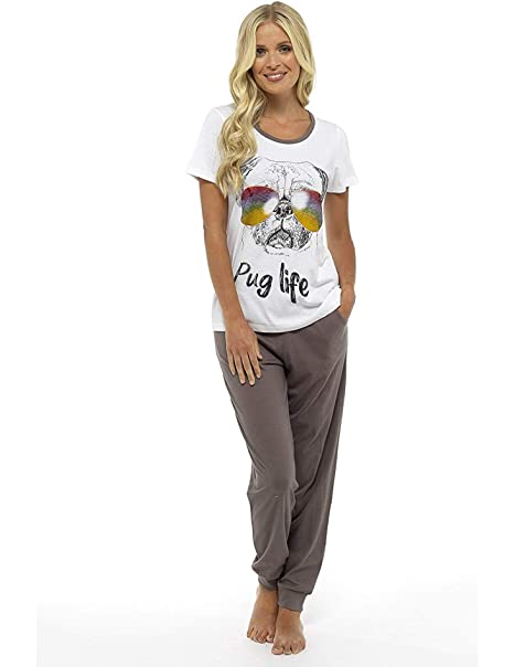 Pijama Mujer Chica 100% Algodón Set Mickey Mouse Minnie Mad Catz Tallas 36-50