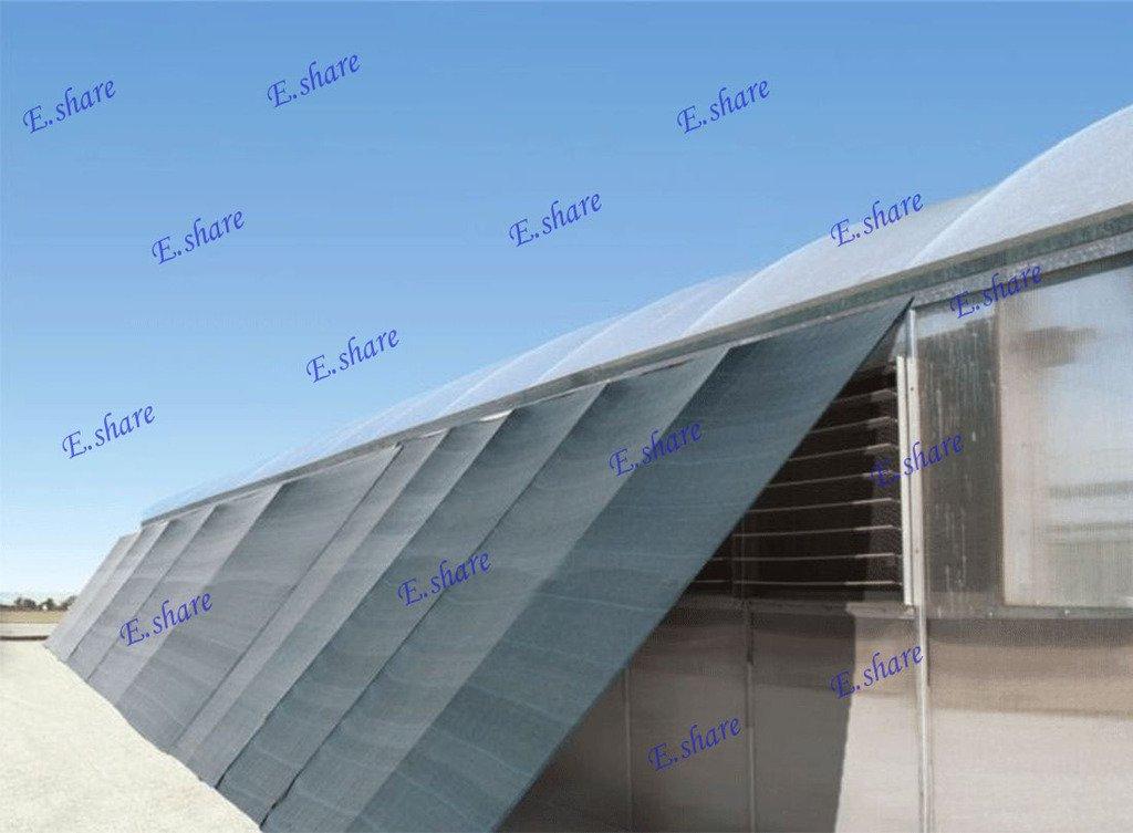e.share 90% Green Shade Cloth 12ft x 36ft Heavy Duty Shade Mesh Tarp by e.share
