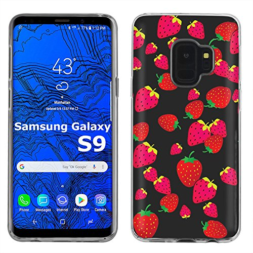 ([Mobiflare] Samsung Galaxy S9 TPU Silicone Phone Case for [Clear] Ultraflex Thin Gel Phone Cover | Screen Protector Included | - [Persian Lion])